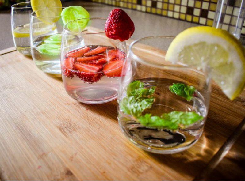 jak zrobić wodę smakową do picia