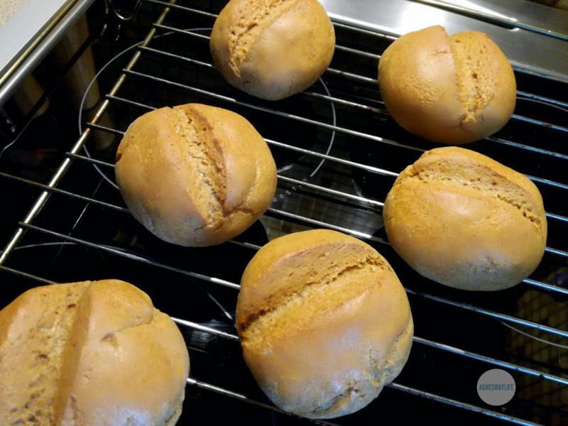 bułki z mąki żytniej
